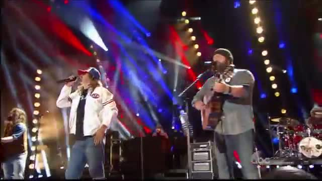 "Zac Brown Band and Kid Rock ""We're An American Band"" CMA Music Festival"