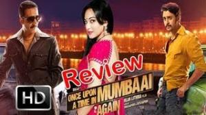 "Full Movie Review ""Once Upon A Time In Mumbai Dobaara"" by Bharati Pradhan"