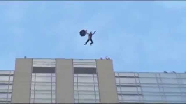 Base Jumpers Leap Off 45-Story Denver Hotel