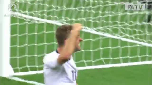 Rickie Lambert goal 2-0 England vs Moldova, Road To Rio - UEFA Championships Qualifier