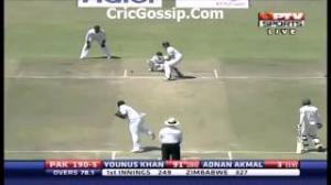 Younis Khan 200* Vs Zimbabwe Full Batting Highlights - Pakistan Vs Zimbabwe 1st Test 2013