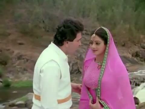 Aaj Kal Yaad Kuch Aur Rehta Nahin - Sridevi, Rishi Kapoor - Superhit Romantic Hindi Song - Nagina (1986)