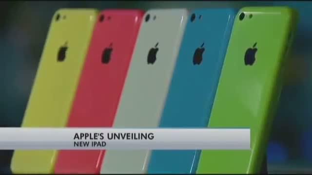 Apple shows off thinner iPad Air and retina iPad Mini