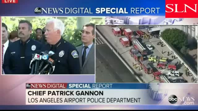 LAX Shooting News Conference: Los Angeles Airport Police Chief Patrick Gannon #LAX