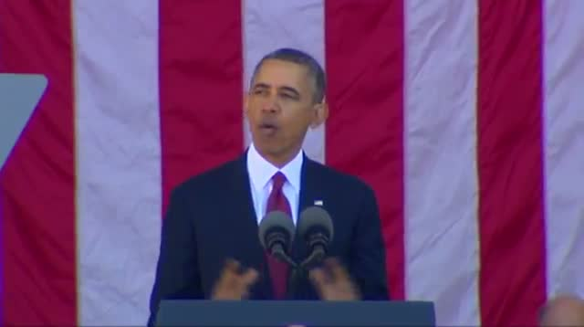 Obama: 'We Will Never Forget'