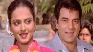 Mera Dil Leke Chal Diye - Hit Bollywood Classic Romantic Song - Rekha, Dharmendra - Kartavya (1979)