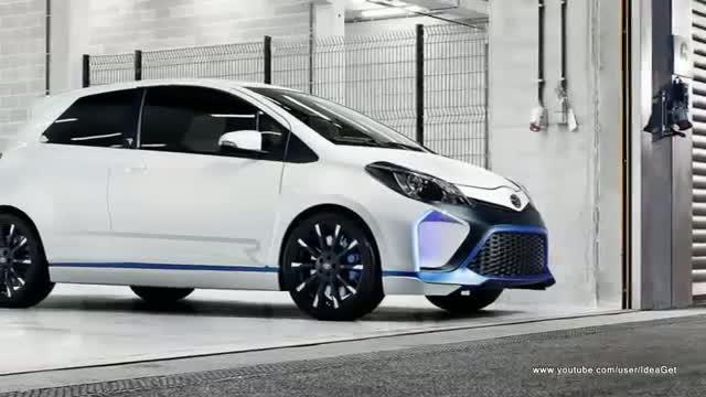 2013 Toyota Yaris Hybrid R Concept