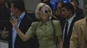 Lady Gaga in Japan: Lady Gaga lands in Japan to promote new album Artpop
