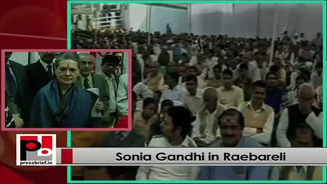 Sonia Gandhi's message after inaugurating AIR Rainbow FM station in Raebareli