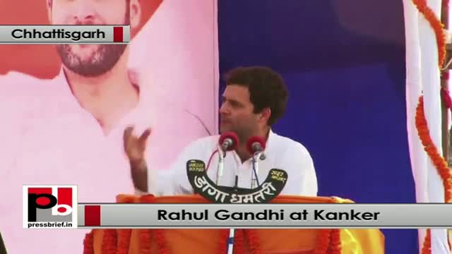 Rahul Gandhi: A Congress govt will be for dalit, tribal and youth and not elite