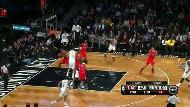 NBA: Joe Johnson Drops Jumpers Against the Clippers