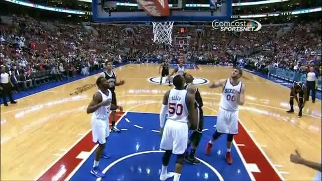 NBA: Paul Pierce Sinks the Back-to-Basket Circus Shot