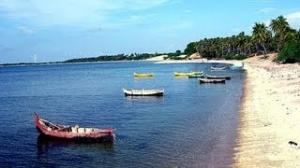 Rameshwaram Sea Confluence Bay of Bengal and Indian Ocean Dhanuskodi, India Full HD
