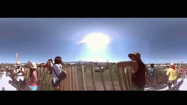 Coachella Until Sunset 2013 (Panoramic)