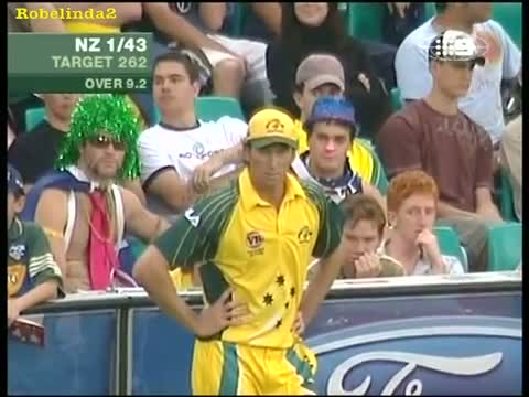 McGarth. You gotta laugh at this! Classic insult to the great bowler.