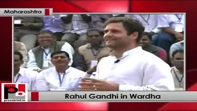 Rahul Gandhi Sewagram interacts with Panchayati Raj representatives on Congress Manifesto