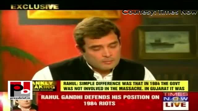 Rahul Gandhi's first ever interview on Times Now, Part 02
