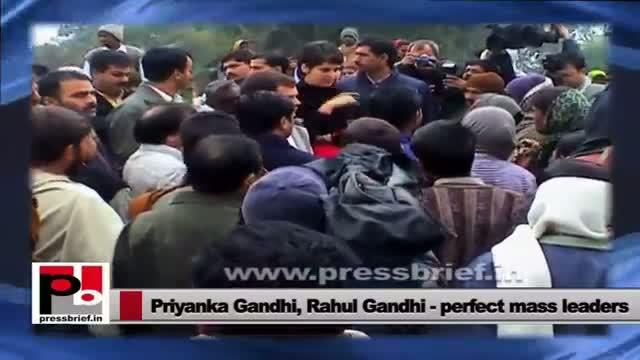 Rahul Gandhi, Priyanka Gandhi: Voice of poor and tribal people