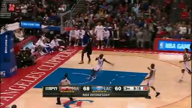 NBA: Dunkfest: Miami Heat vs Los Angeles Clippers