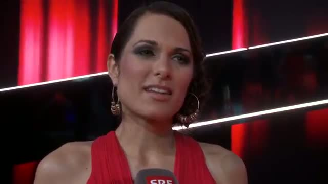 Interview mit Vanessa Iraci nach der 2. Live-Show - The Voice of Switzerland 2014