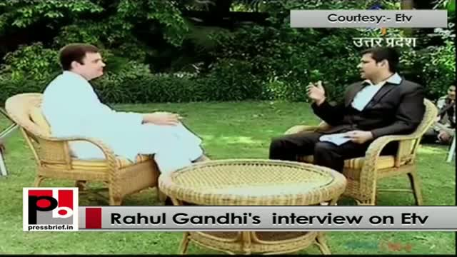 Rahul Gandhi's interview on ETV