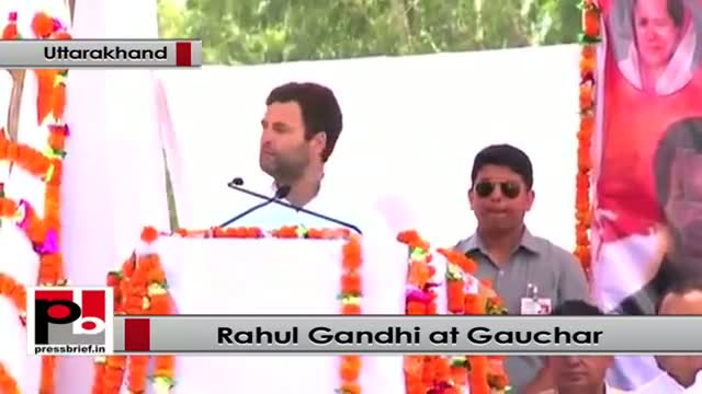 Rahul Gandhi: We want every poor has strong roof above his head