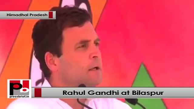 Rahul Gandhi: BJP says something but does something else