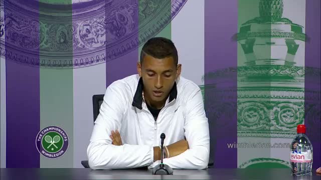 Nick Kyrgios will 'never forget' this win - Wimbledon 2014