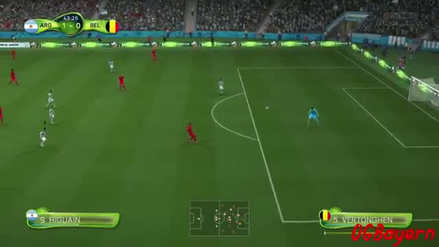 Argentina vs Belgium 1-0 World Cup 2014 Full Match Goals & Highlights 5/7/14 - FIFA World Cup 2014 Gameplay
