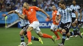 Netherlands Vs Argentina [PENATY 2-4] 2014 - ALL GOAL & MATCH HIGHLIGHTS - FIFA World Cup 2014 Brazil