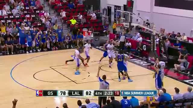 NBA Summer League: Golden State Warriors vs Los Angeles Lakers