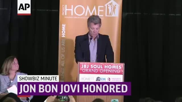 ShowBiz Minute: LaBeouf, Bon Jovi, Martin