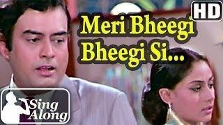Meri Bheegi Bheegi Si (HD) - Kishore - R D Burman Old Hindi Karaoke Song - Anamika - Sanjeev Kumar [Old is Gold]