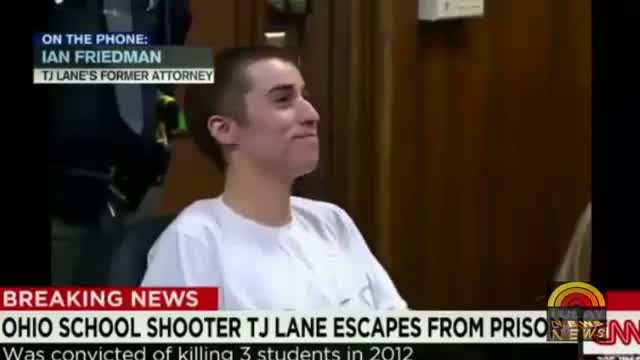 TJ Lane Escape From Prison ! Chardon Shooter T.J. Lane Has Escaped From Prison in Lima