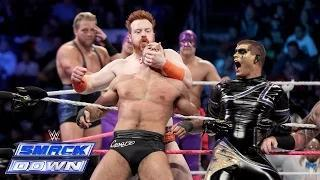 A 15-Man Tag Team Match between Team Teddy & Team Laurinaitis: WWE SmackDown, Oct. 10, 2014