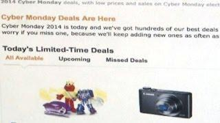 Hopes for Cyber Monday After Weak Black Friday