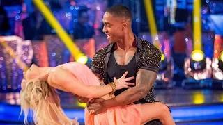 Strictly Come Dancing 2014: Simon Webbe & Kristina Salsa to 'Let's Hear it for the Boy'