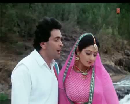 Aaj Kal Yaad Kuch Aur Rahata Hain (Full Hindi Song) - Nagina | Sridevi, Rishi Kapoor