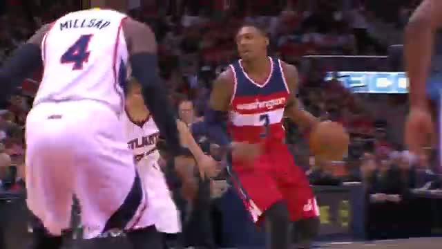 NBA: Al Horford Denies Nene to Protect the Paint