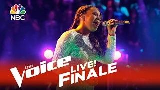 The Voice 2015 Koryn Hawthorne - Live Finale: 'It's a Man's Man's Man's World'