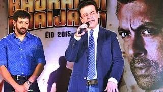 Bhar Do Jholi Meri' SONG Launch   Bajrangi Bhaijaan   Salman Khan   Adnan Sami