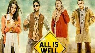 All Is Well Official First Look - Abhishek Bachchan   Asin   Rishi Kapoor