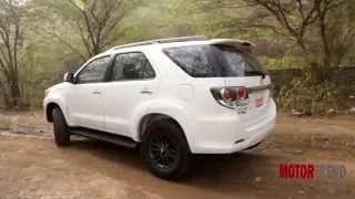 New 2015 Toyota Fortuner 4x4 Automatic Review - Motor Trend India