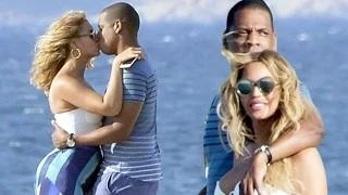Beyonce & JayZ's Steamy PDA 'Caught On Camera'