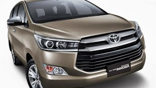 New Toyota Innova 2016 India Preview, Features, Interior