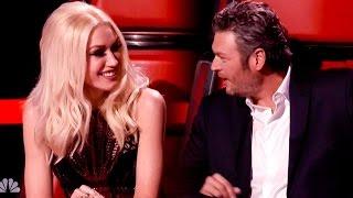 Blake Shelton Calls Gwen Stefani His Booty Call on 'The Voice'