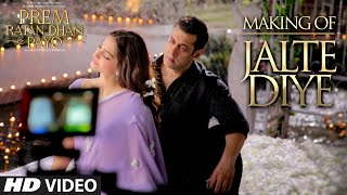 Making of 'Jalte Diye' VIDEO Song - Prem Ratan Dhan Payo   Salman Khan, Sonam Kapoor