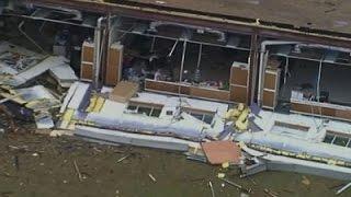 Aerials Show Texas Tornado Damage