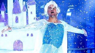 Channing Tatum Booty-Pops Like Beyonce & Twirls like Elsa from 'Frozen' in Lip Sync Battle