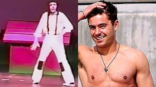 Watch Teenage Zac Efron Do the Moonwalk in His Real Life High School Musical